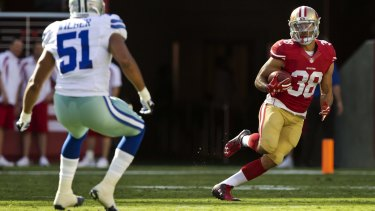 In the spotlight: Jarryd Hayne has made NFL bigwigs sit up and take notice.
