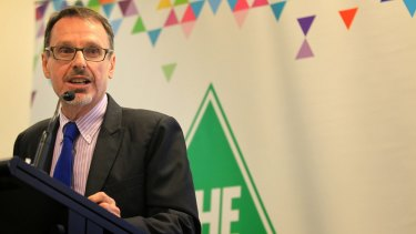 Dr John Kaye of the NSW Greens will need ongoing therapy and treatment for cancer.