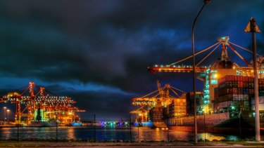 Consecutive strikes have hit Melbourne's busy container port.