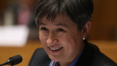 Senator Penny Wong questioned DFAT officials in Senate estimates.