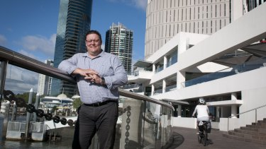 Senator Glenn Lazarus is keen to make his own name, well removed from Clive Palmer.