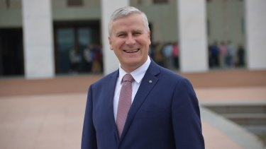 """""""What's the point of a plebiscite?"""": Minister for Small Business Michael McCormack."""