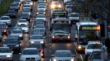 Clogged roads are slowing us down as a nation.