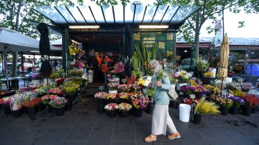 Just how much do you spend on Valentine's Day. Joe Leuzzi Flowers at Queen Victoria Market.