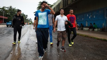 Refugees on Manus Island currently have medical services provided by an international contractor to Australia.