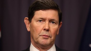 """Declaration: Incoming Defence Minister Kevin Andrews does not recall making the """"no interest"""" remark."""