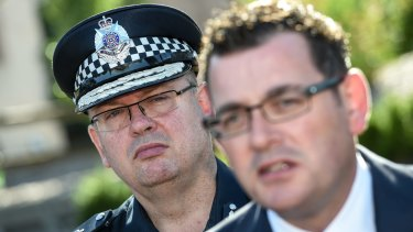 Chief Commissioner Graham Ashton and Premier Daniel Andrews have flagged their concerns over youth crime.