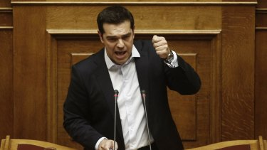 Greek Prime Minister Alexis Tsipras wants a 'no' vote.