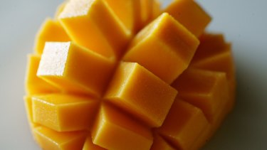 Some mangoes are treated using irradiation.