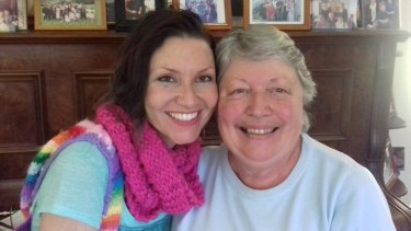 Bronwyn Atherton with her mother Robyn Atherton in Ulladulla.