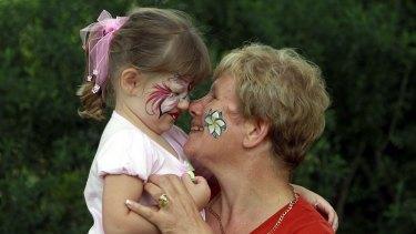Grandparents help their grandchildren in many ways beyond the financial.