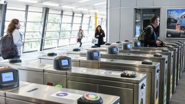 The government will trial contactless payments for public transport next year.