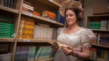 Susan Prior as head teacher Lee Issen in a scene from Book Week.