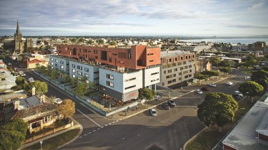 More than 100 new apartments will be built in Geelong.
