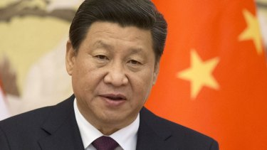 """""""A dream of peace, development, co-operation and mutual benefit"""": Chinese President Xi Jinping."""
