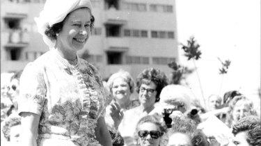 Queen Elizabeth formally opened the estate in 1977.