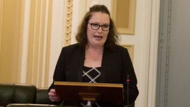 Gold Coast MP Verity Barton lost her licence twice for failing to pay fines.