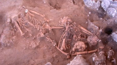 The remains, which were 3,000 years old, were excavated from the oldest known cemetery of the Pacific Island Lapita culture near Port Vila in Vanuatu