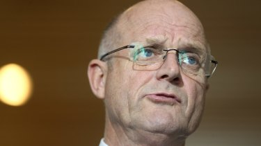 """We are a nation of victims"", says senator David Leyonhjelm."