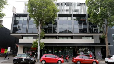 The Harvest Apartments in Clarendon Street South Melbourne.