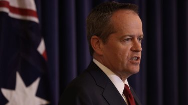 "Opposition Leader Bill Shorten: ""Our current law excludes some individuals, and to me, that is unacceptable."""