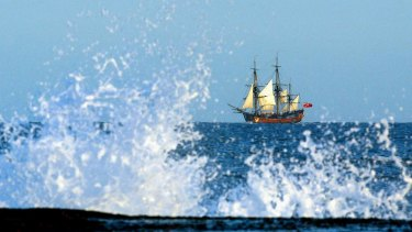 A replica of the Endeavour is the focus of many public programs at the Australian National Maritime Museum.