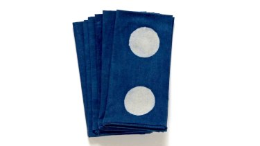 Full moon napkins 6 for $75.
