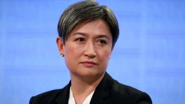 Labor frontbencher Penny Wong.