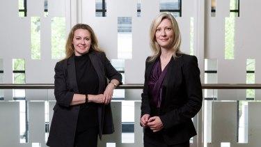 Bellamy's Organic former  CEO Laura McBain and former CFO Shona Ollington.