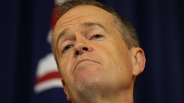 Opposition Leader Bill Shorten and his Labor colleagues back a cut only for companies with a turnover of up to $2 million.