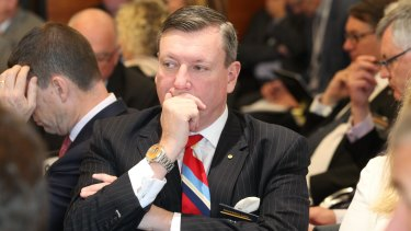 John Brogden at the National Reform Summit on August 26, 2015.