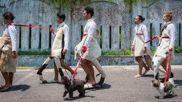 Mella Jaarsma's Dogwalk is part of the biennale line-up.