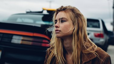 Lucy Fry stars in the TV adaptation of Wolf Creek.