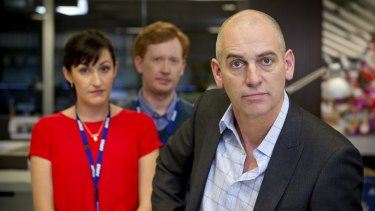 Rob Sitch and cast of Utopia