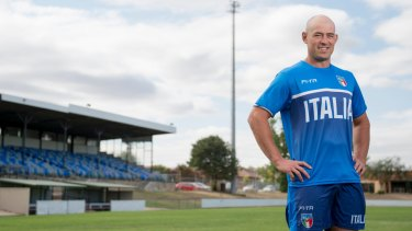 Former Canberra Raiders captain Terry Campese will play for Italy at the World Cup.