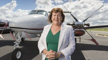 Archerfield Airport's new general manager Heather Mattes.