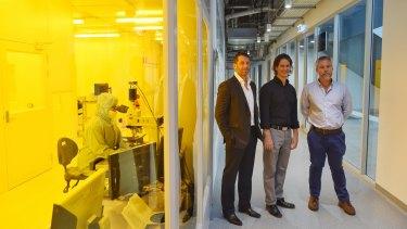 Nanotechnology leaders: Ben Eggleton , Michael Biercuk and David Reilly  from Sydney University.