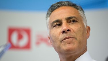 Outgoing Australia Post CEO Ahmed Fahour believes Amazon will be a massive boost to small businesses.