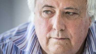 Clive Palmer says he was too busy in federal parliament to be involved in the daily running of his nickel refinery.