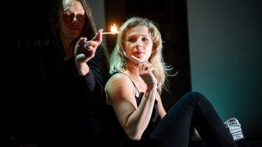 Maria Sazanova and Pussy Riot's Maria Alyokhina in Burning Doors.