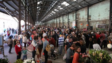 Carriageworks Farmers' Market: more restaurants and cafes are coming to the site.