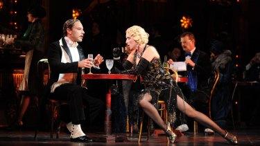 Jane Ede (pictured with Adrian Tamburini) stole almost every scene in La Boheme.