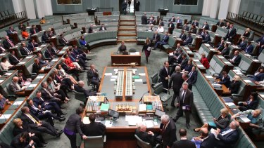 Room for one more? the House of Representatives in Canberra.