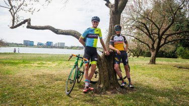Brothers Ben and Sam Hill will be competing against eachother at this weekend's National Capital Tour.