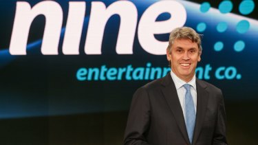 Tony Abbott will meet with free-to-air CEOs on Thursday, including Nine Network's David Gyngell (pictured), Seven Network's Tim Worner and Ten's Hamish McLennan.