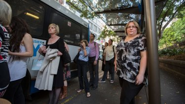 Kimberley Hubbard says her commute now costs her an extra $50 a fortnight.