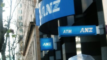 Among the big four banks, ANZ is the only one that derives more than 2 per cent of its loans from the mining sector.