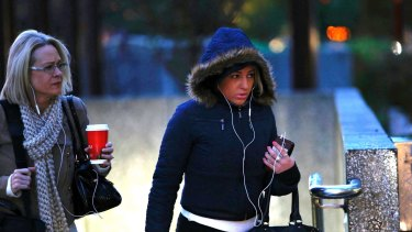 Thought it was cold? Monday was the coldest day of the year in Melbourne so far.