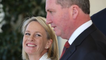 Nationals deputy Fiona Nash is leading the push to stop tobacco company donations. Leader Barnaby Joyce has left the door open to change.