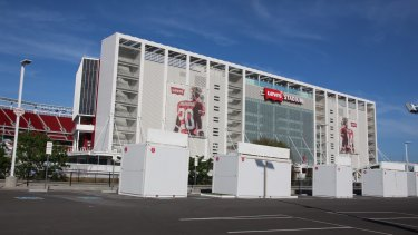 Hi-tech: Levi's Stadium in Santa Clara, California.